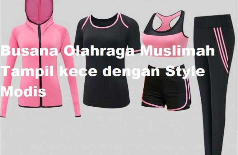 Busana Olahraga Muslimah Tampil kece dengan Style Modis